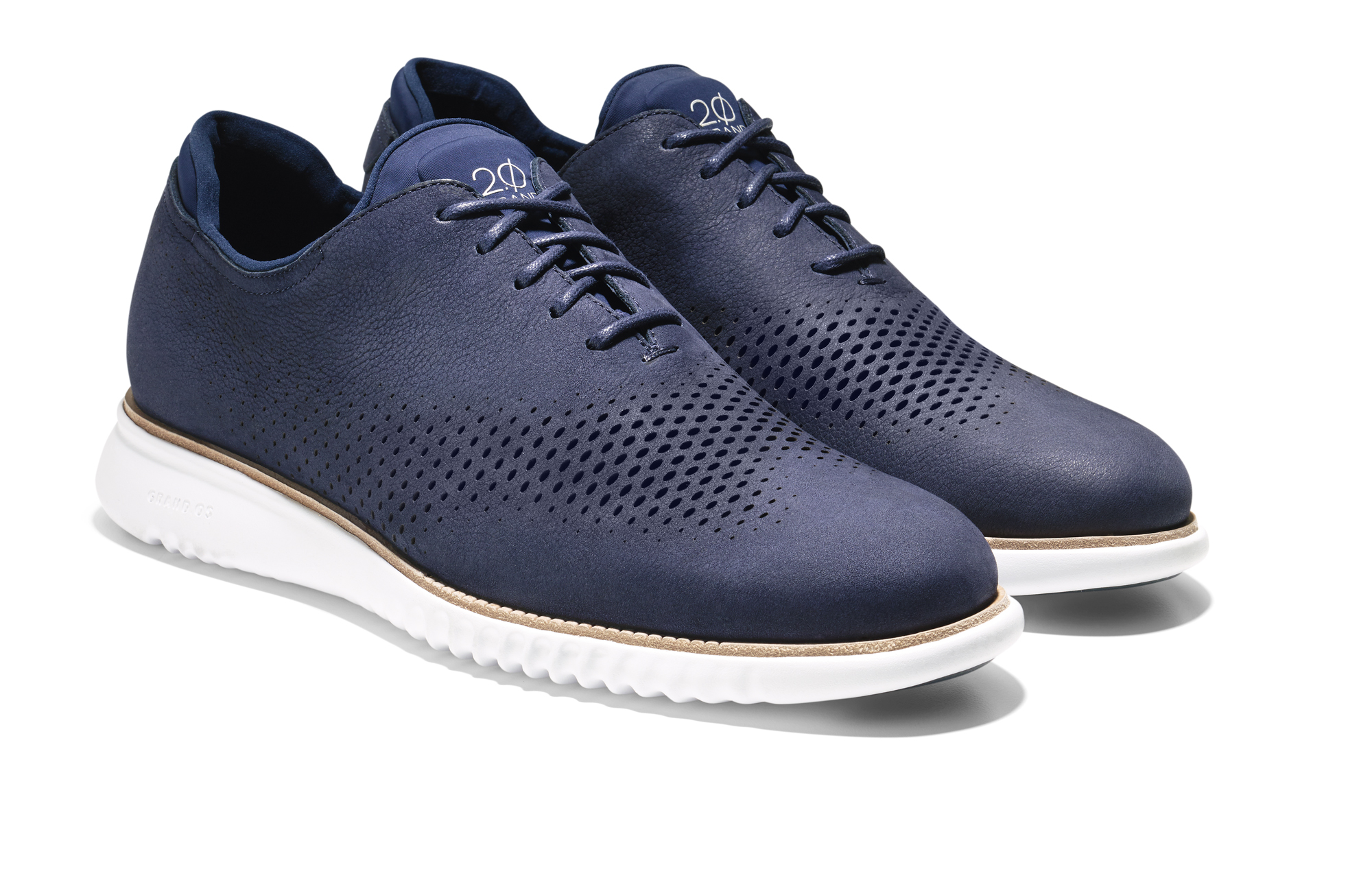 Cole Haan_2. ZERØGRAND Wing Oxford_Marine Blue Nubuck