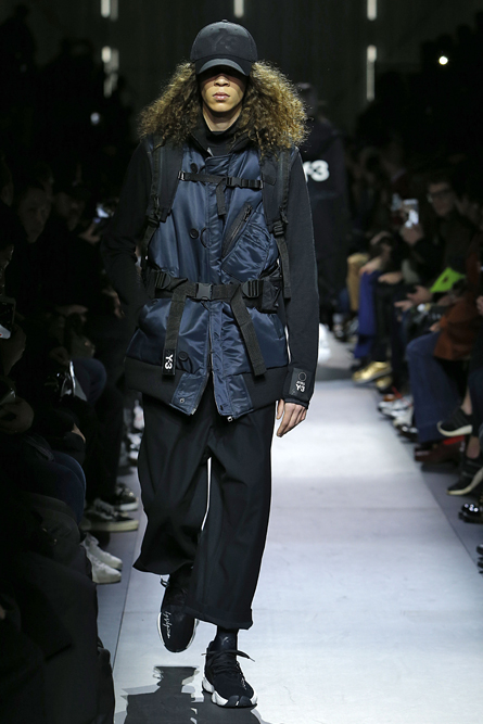 Y3 Paris Fashion Week Men Fall Winter 2018-19 Paris January 2018
