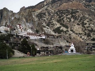 The Monastery of Bhratang, Manang.