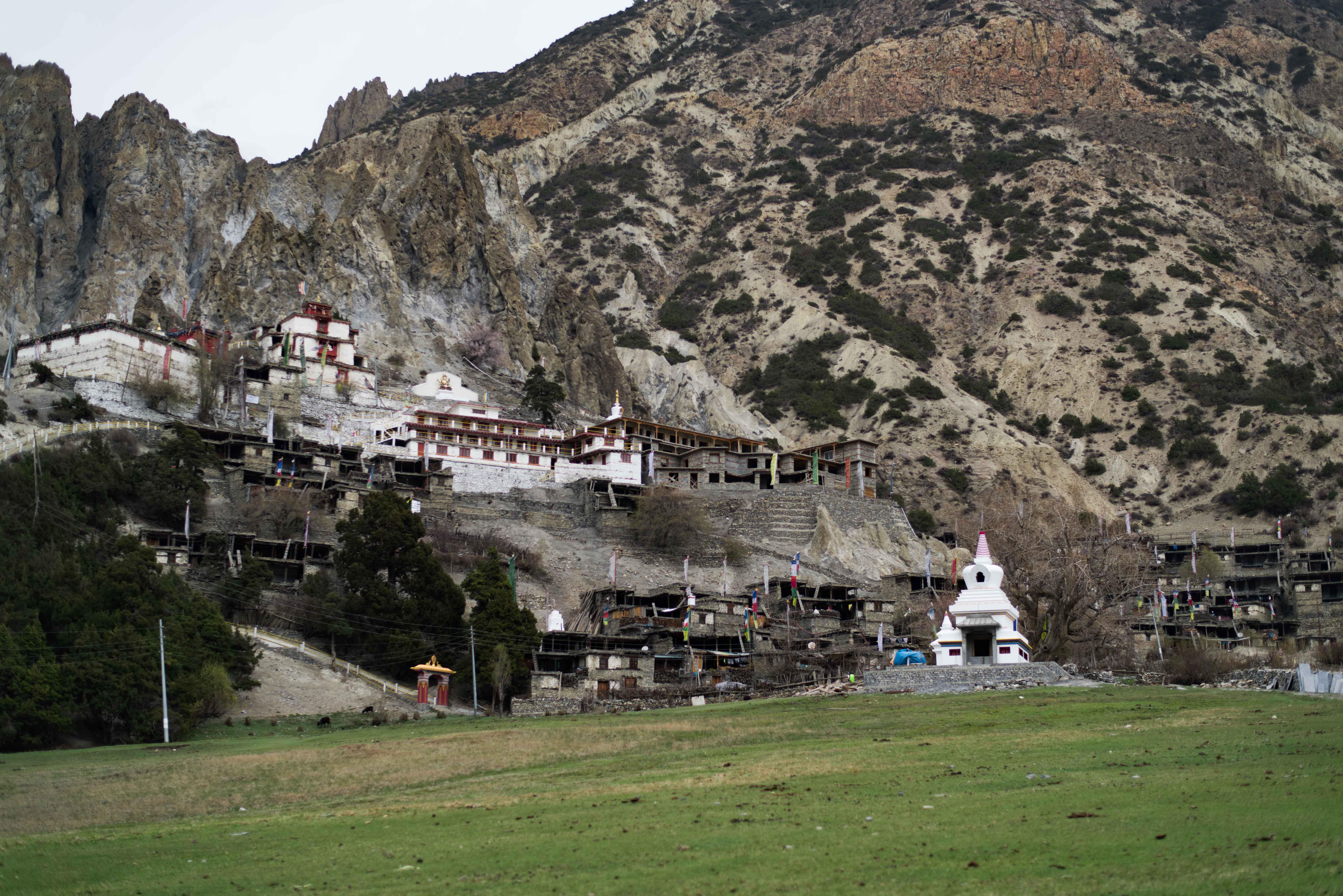 The Monastery of Bhratang, Manang.