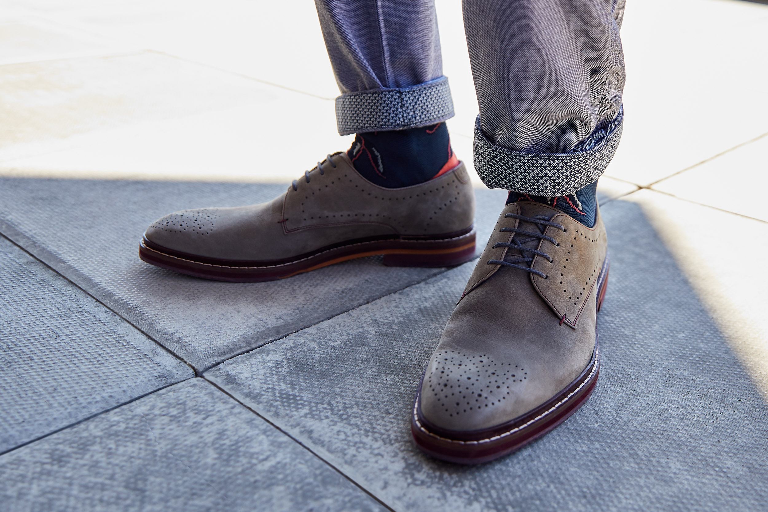 we are outlanders ted baker brogue