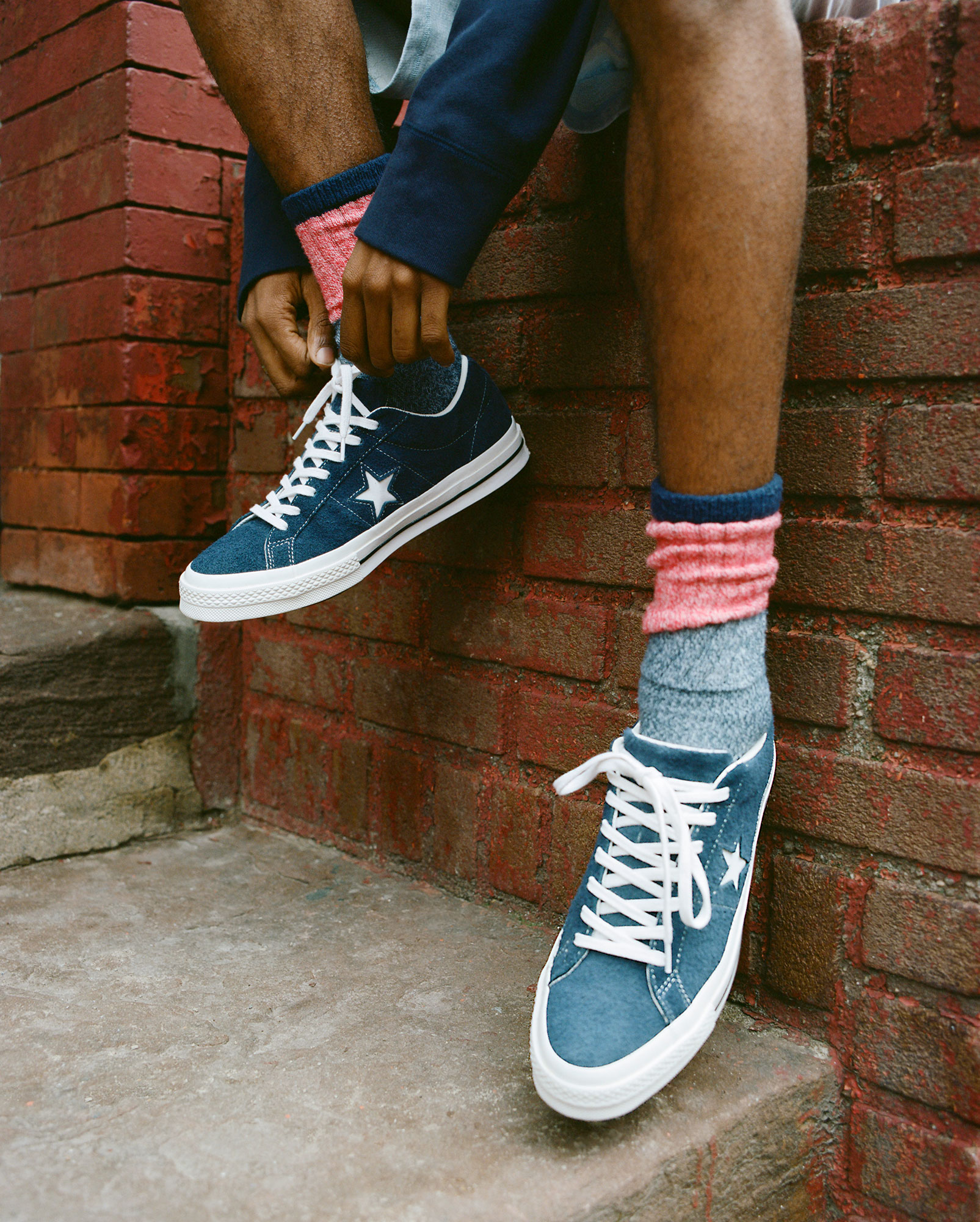 We Are Outlanders CONVERSE ONE STAR PREMIUM SUEDE COLLECTION