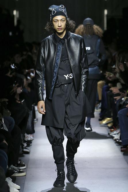 Y3 Paris Fashion Week Men Fall Winter 2018-19 Paris January 2018