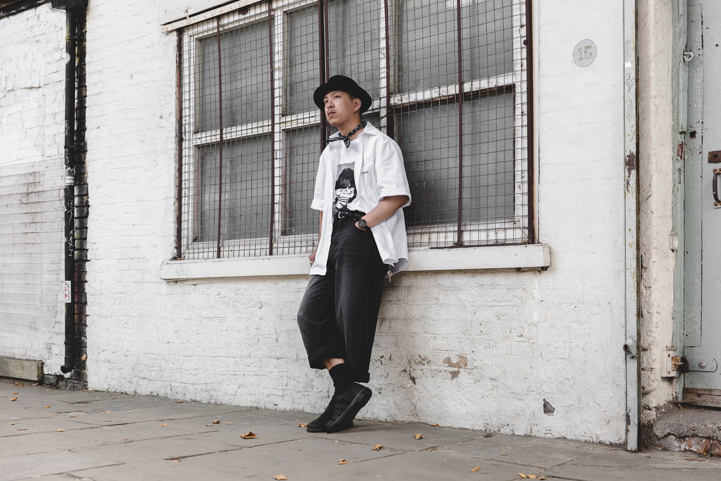 we are outlanders cheap monday white shirt